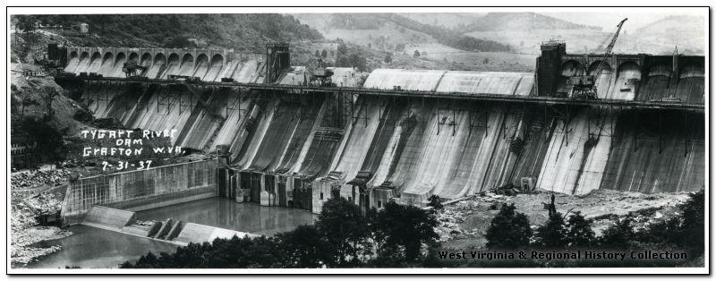 tygart river dam